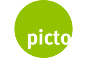 Picto Sign Logo